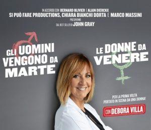 Gli Uomini vengono da Marte - Le Donne da Venere - Novara @ Teatro Coccia